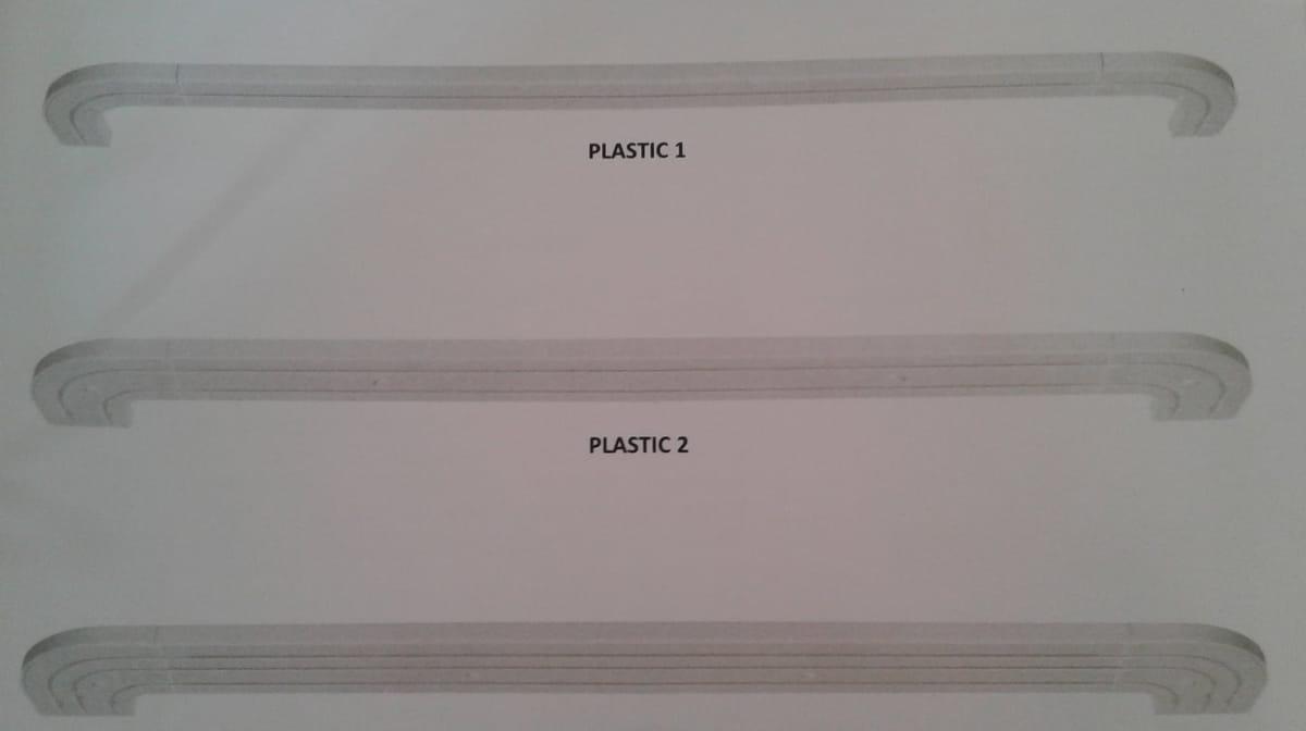 Műanyag karnis